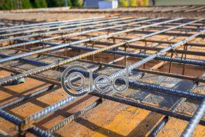 Rebar for concrete foundation