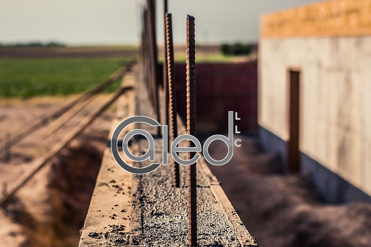 Rebar in the Foundation walls